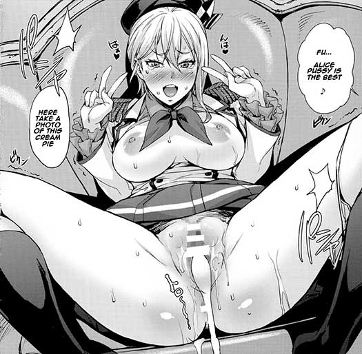 At least, kudos for the Erina cosplay pages.